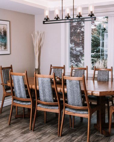 Mid Century Modern Dining Room Revamped