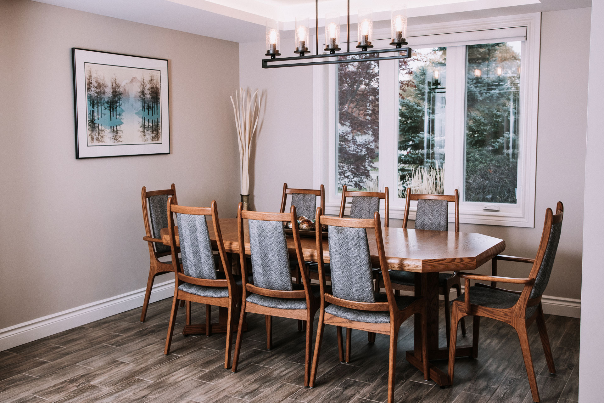 Mid Century Modern Dining Room Revamped